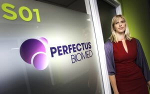 sam westgate founder and ceo of perfectus biomed
